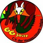 Jubileumvlag voor CV der Vooseschtoets