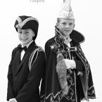 Jeugdprins Olivier I en jeugdminister Rinse